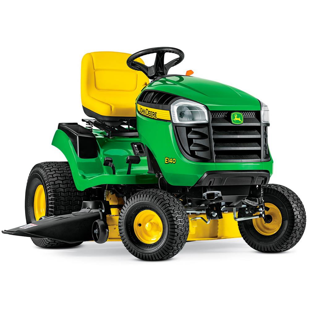 hight resolution of john deere e140 48 in 22 hp v twin gas hydrostatic lawn tractor