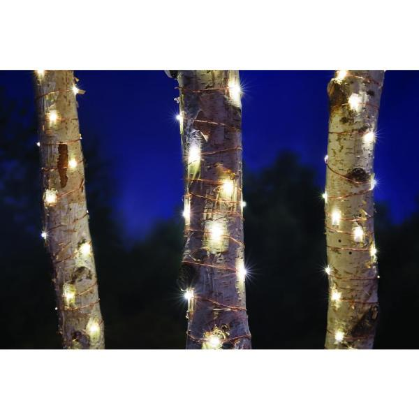 Hampton Bay Copper Wire Led Starry String Light Plug-in-nxt-1009 - Home Depot
