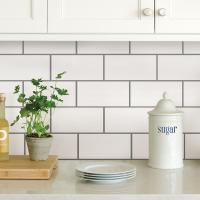 Stick On Subway Tile Backsplash | Tile Design Ideas