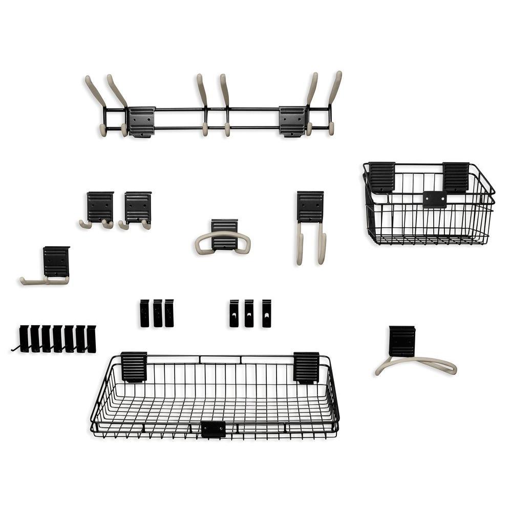 Suncast Handiwall Basic Slat Wall Accessory Kit-HSBAK