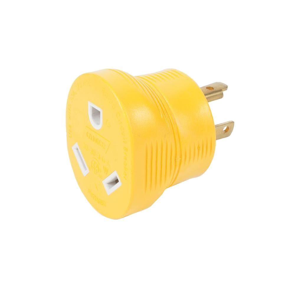 hight resolution of camco 30 amp generator adapter
