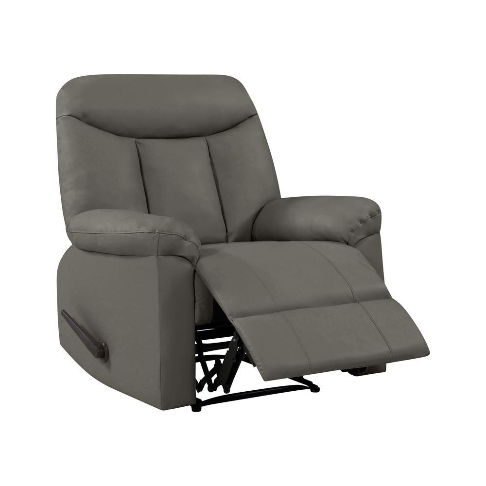 wall hugger recliner chair hanging malaysia prolounger taupe gray tuff stuff polyurethane