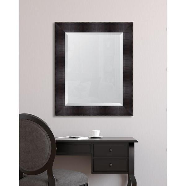 Espresso Framed Mirror 34 X 40