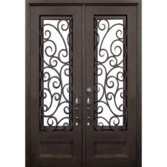 Home Depot Kitchen Handles Plates To Hang On Wall Allure Iron Doors & Windows 72 In. X 96 Lauderdale ...