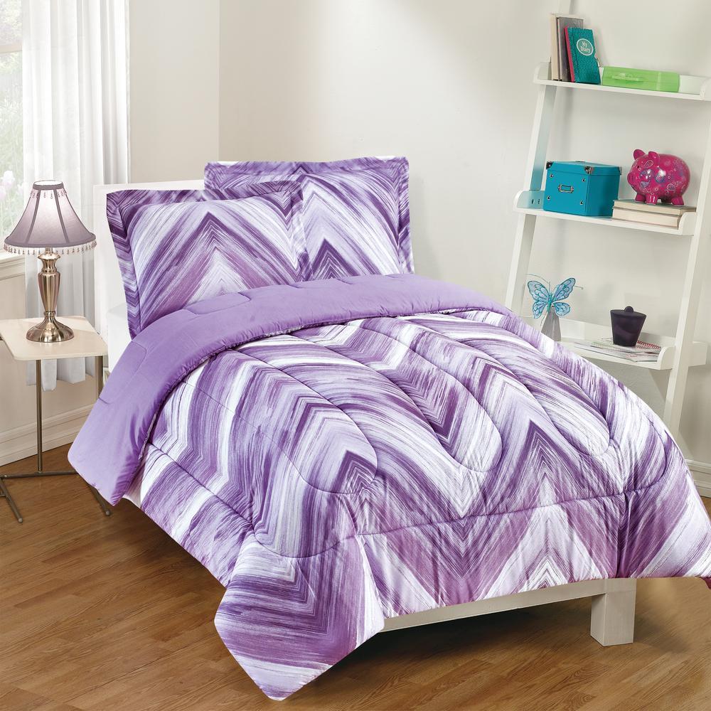 linden 2 piece purple