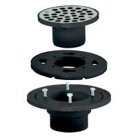 EZ-FLO 2 in. x 3 in. ABS Low Profile Floor and Shower ...
