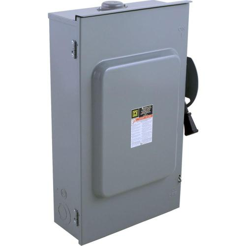 small resolution of square d 200 amp 240 volt 3 pole 3 phase fused outdoor general