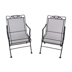 Black Metal Patio Chairs Wholesale Beach Arlington House Glenbrook Action 2 Pack 7871700