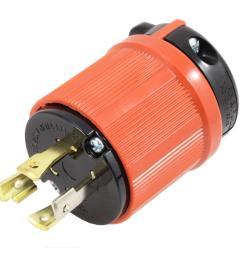ac works ac connectors nema l14 30p 30 amp 125 250 volt 4 [ 1000 x 1000 Pixel ]
