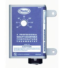 master flow manually adjustable thermostat for power vent [ 1000 x 1000 Pixel ]