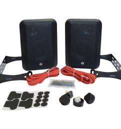 rtr series indoor outdoor speakers in black [ 1000 x 1000 Pixel ]
