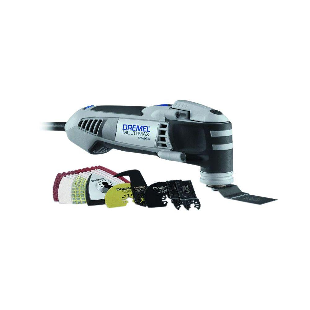 medium resolution of multi max 4 amp variable speed corded oscillating multi tool kit with 28 accessories and storage bag