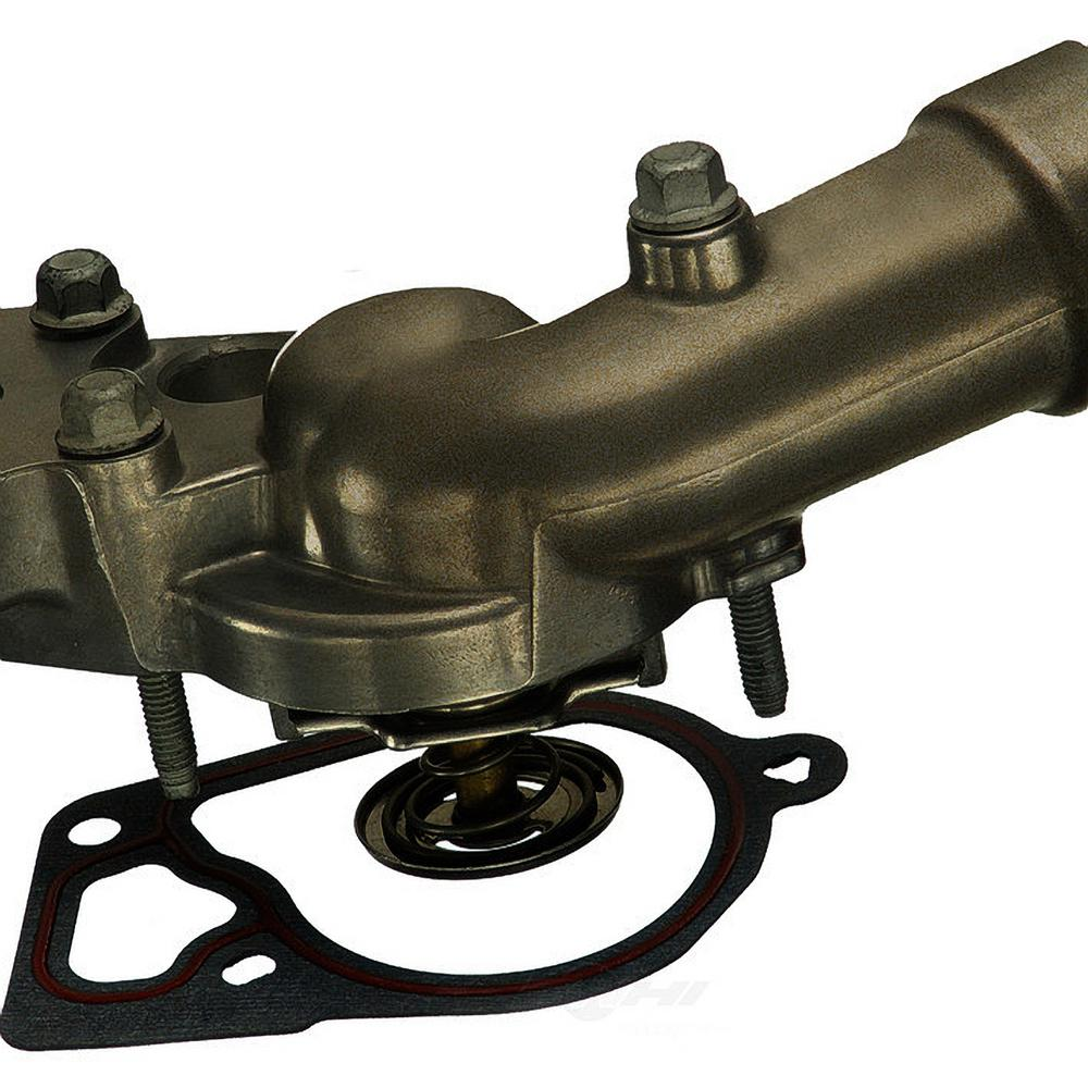 hight resolution of engine coolant thermostat water inlet assembly fits 2004 2008 buick allure lacrosse rendezvous