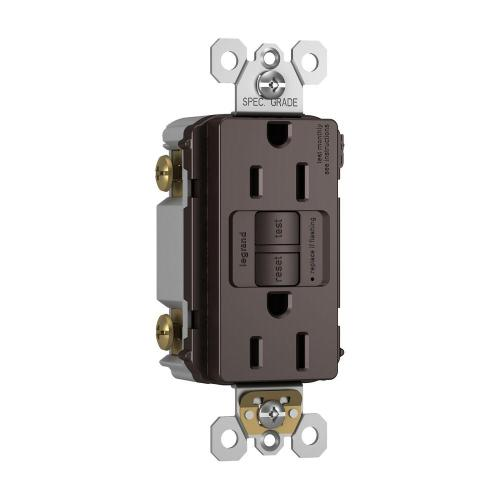 small resolution of 15 amp 125 volt 2 outlet self test gfci dark bronze