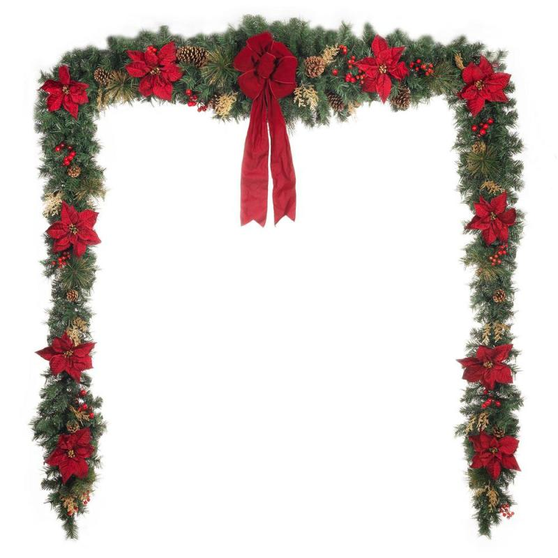 Christmas Mantel Decorations Garland