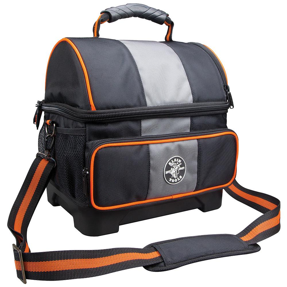 Klein Tools 12 Qt Soft Sided Jobsite Lunch Cooler55601  The Home Depot