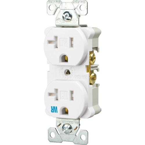 small resolution of eaton 20 amp tamper and weather resistant electrical duplex outlet white