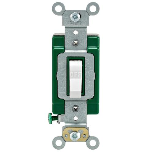 small resolution of leviton 30 amp industrial double pole switch white