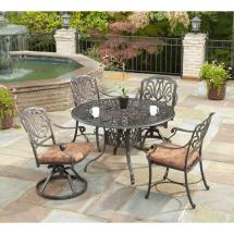 Home Styles Floral Blossom 42 In. 5-piece Patio