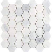 Emser Winter Frost Hexagon Mix 12 in. x 12 in. x 10 mm ...