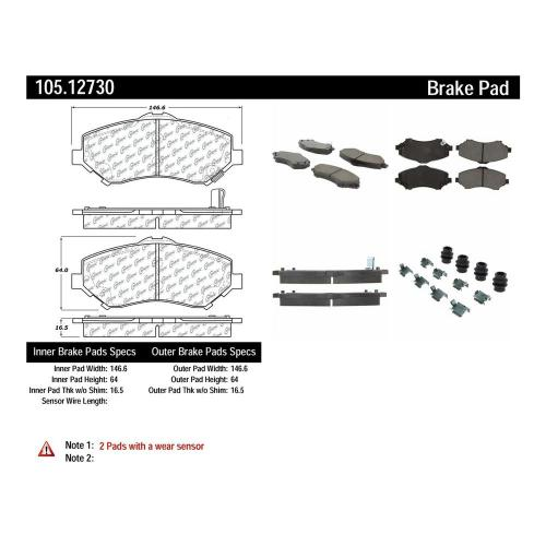 small resolution of disc brake pad set