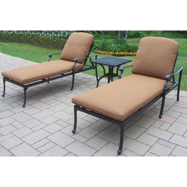 Patio Chaise Lounge Set