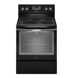 whirlpool 6 4 cu ft electric range with self cleaning convection oven in stainless steel wfe540h0es the home depot [ 1000 x 1000 Pixel ]