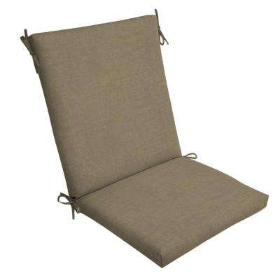 chair cushions outdoor graco high 6 in 1 the home depot 20 x sandstone leala texture dining cushion