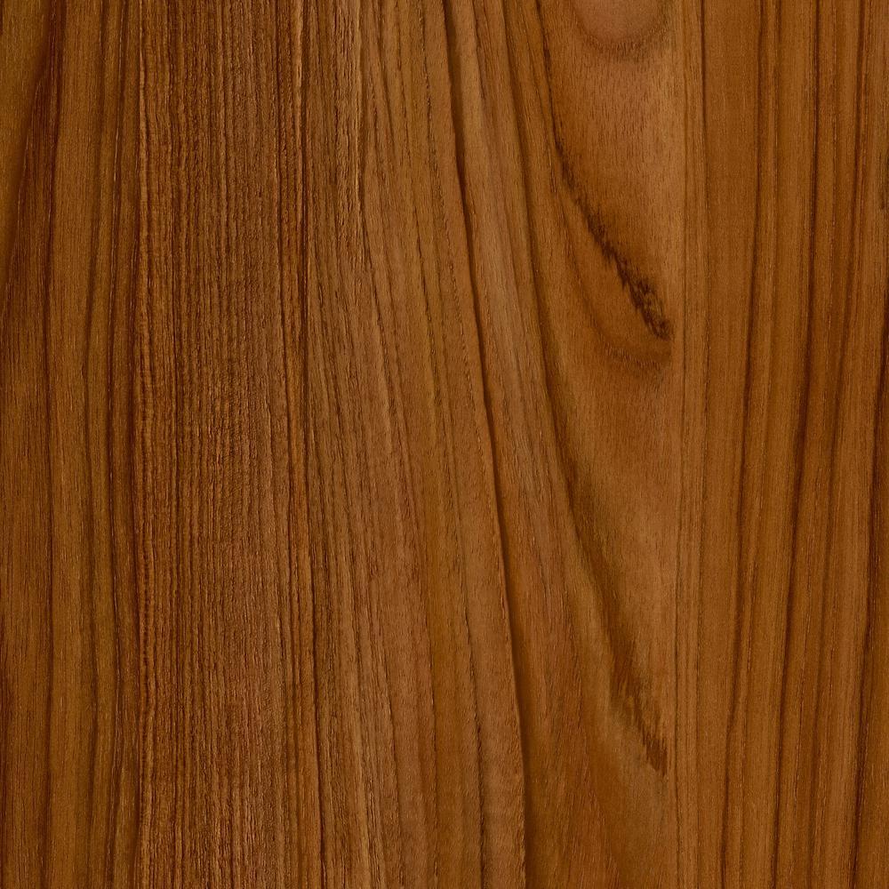 TrafficMASTER Allure 6 in x 36 in Teak Luxury Vinyl Plank Flooring 24 sq ft  case53712