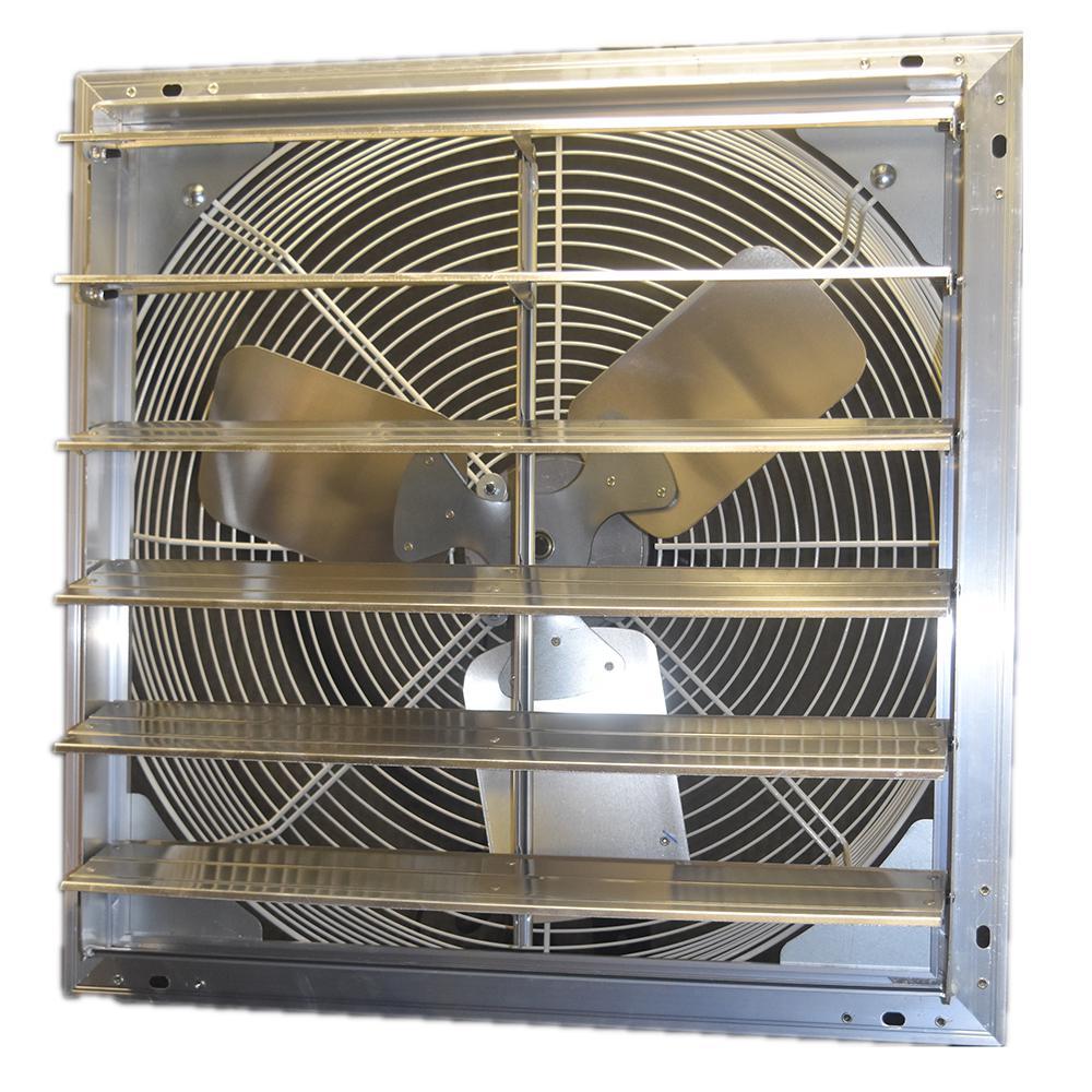 electric 10 auto shutter exhaust fan