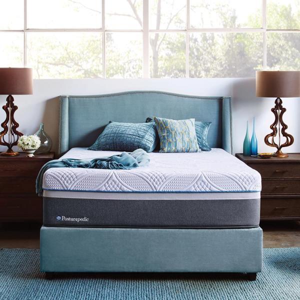 Sealy Hybrid Firm Queen-size Mattress-51406451 - Home Depot