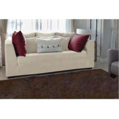 Living Room Slipcovers White And Black Rooms Furniture The Home Depot Ivory Stretch Sofa Slip Cover