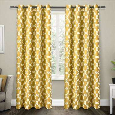 Yellow And Beige Curtains Gopelling Net