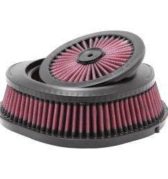04 09 12 13 honda crf250x 05 09 12 13 crf450x replacement air filter [ 1000 x 1000 Pixel ]