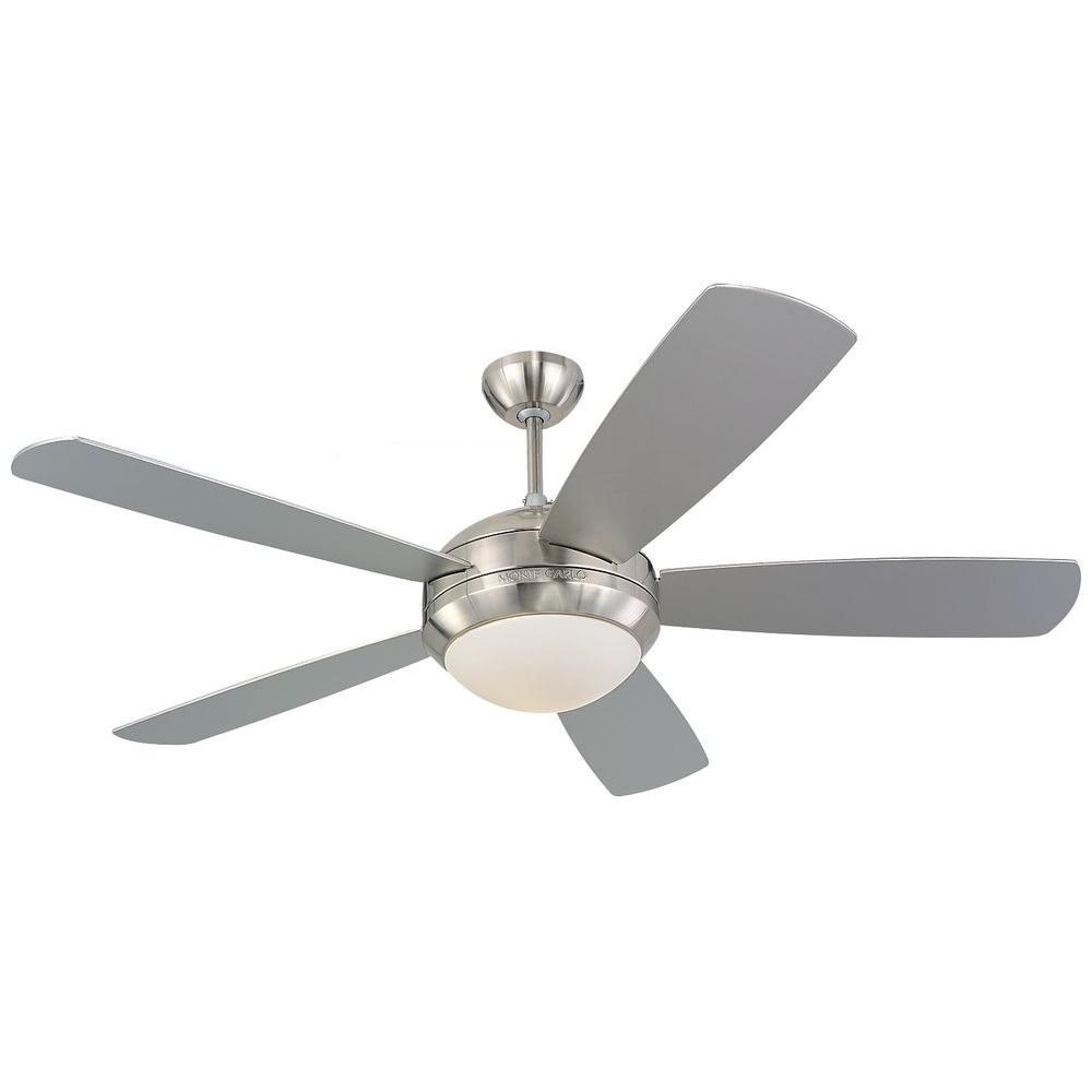 medium resolution of brushed steel silver ceiling fan