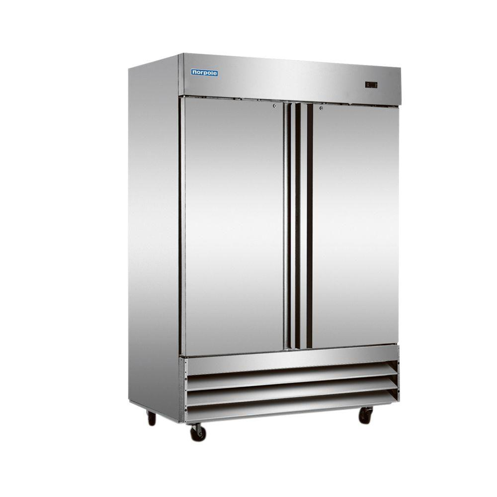Norpole 48 cu ft Commercial Refrigerator in Stainless