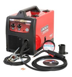 flux cored arc welding wikipedia source lincoln electric 125 amp weld pak 125 hd flux cored welder with magnum 100l [ 1000 x 1000 Pixel ]