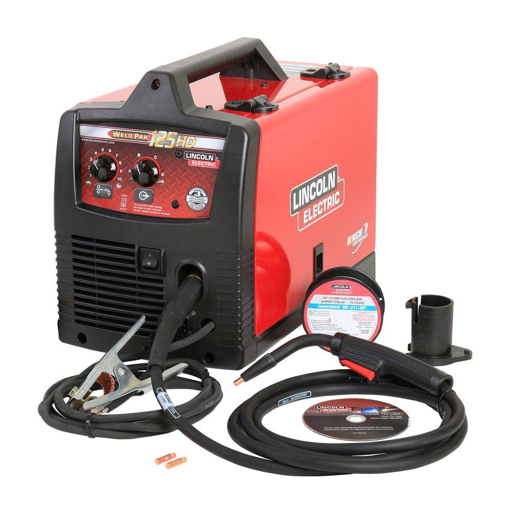 medium resolution of flux cored arc welding wikipedia source lincoln electric 125 amp weld pak 125 hd flux cored welder with magnum 100l