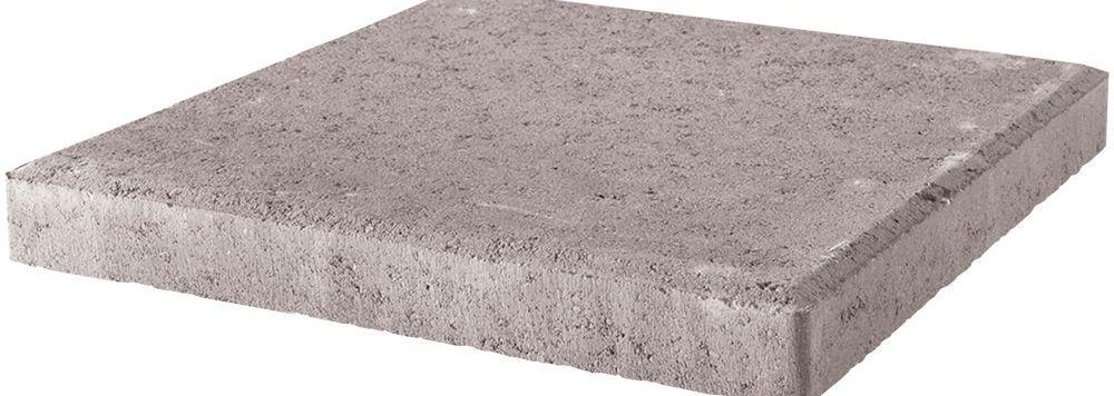18 In X 18 In X 1 75 In Pewter Square Concrete Step | Patio Steps Home Depot