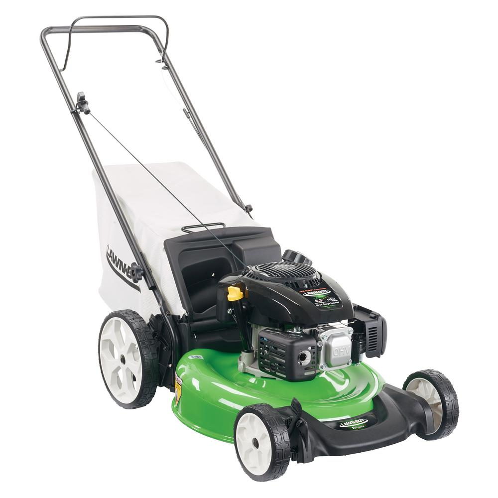 medium resolution of high wheel gas walk behind push mower with kohler engine