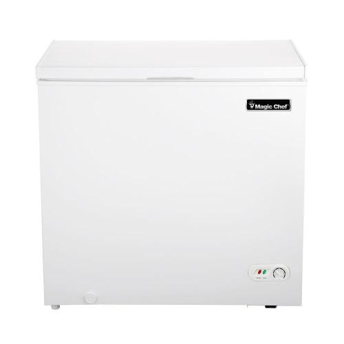 small resolution of chest freezer in white