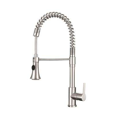 franke kitchen faucet best rta cabinets faucets the home depot tall single handle pull down sprayer