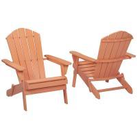 Hampton Bay Nectar Folding Outdoor Adirondack Chair (2 ...