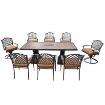 Hampton Bay Shelbyville Patio Dining Chairs With Spiced