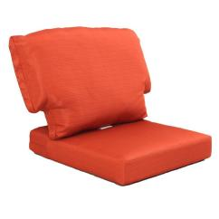 Replacement Chair Covers For Outdoor Chairs Basket Weave Dining Patio Cushion Charlottetown Quarry Red Weather Proof