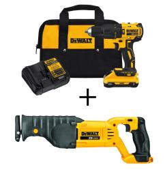 20 volt max lithium ion cordless brushless hammerdrill w 3 0ah battery amp [ 1000 x 1000 Pixel ]