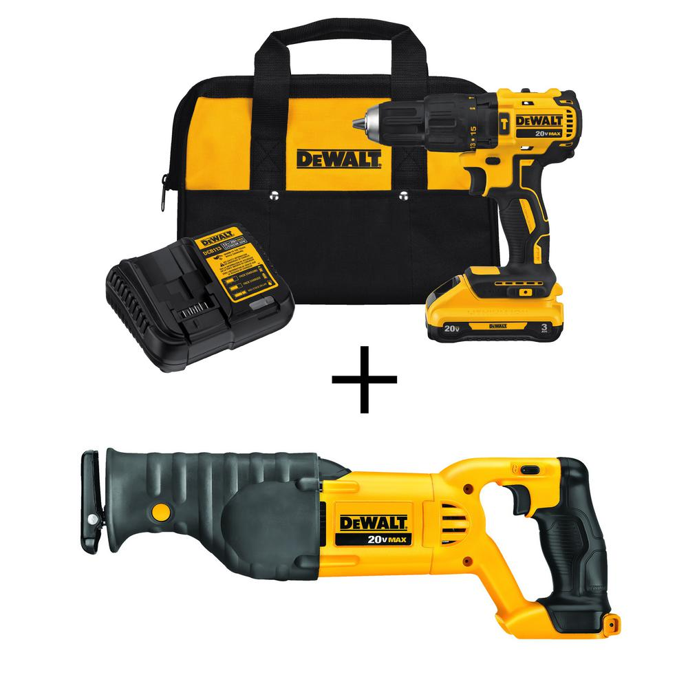 medium resolution of 20 volt max lithium ion cordless brushless hammerdrill w 3 0ah battery amp