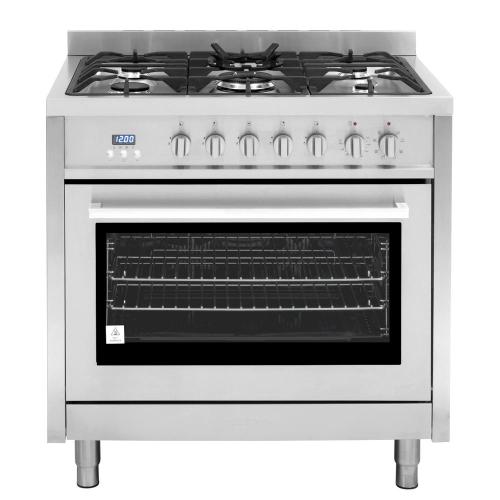 small resolution of cosmo commercial style 36 in 3 8 cu ft single oven dual fuel