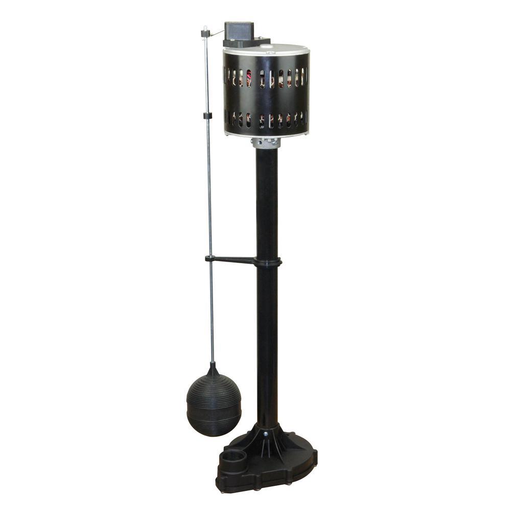 hight resolution of everbilt 1 3 hp pedestal sump pump