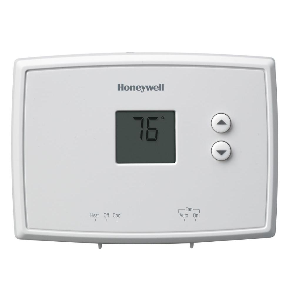 medium resolution of honeywell digital non programmable thermostat 2